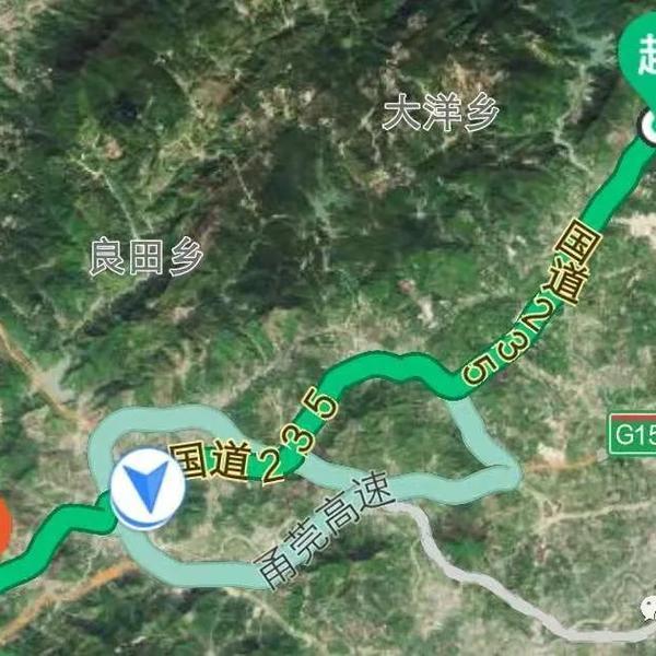 揭西交警:关于国道G235线G238线揭西段路面改造工程施工期间的通告