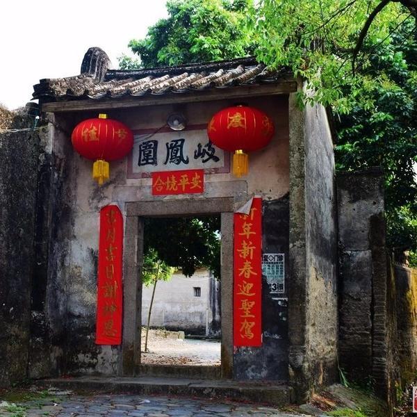 始建乾隆年间的古建筑岐凤围